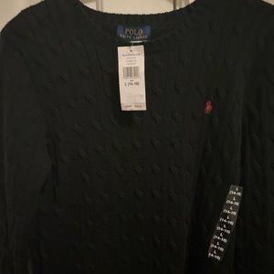Boys polo sweater